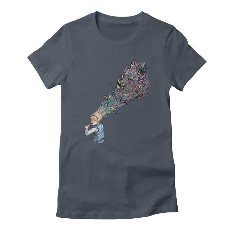 Butterflies Women's T-Shirt by weswongwithyou's Artist Shop