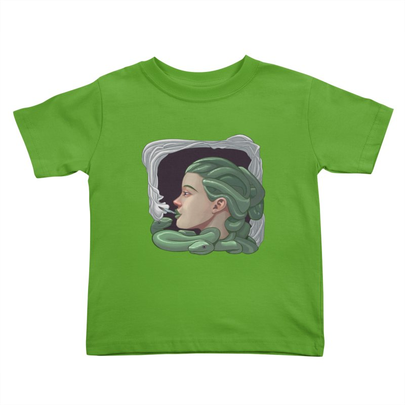 Stoned Kids Toddler T-Shirt by weswongwithyou's Artist Shop