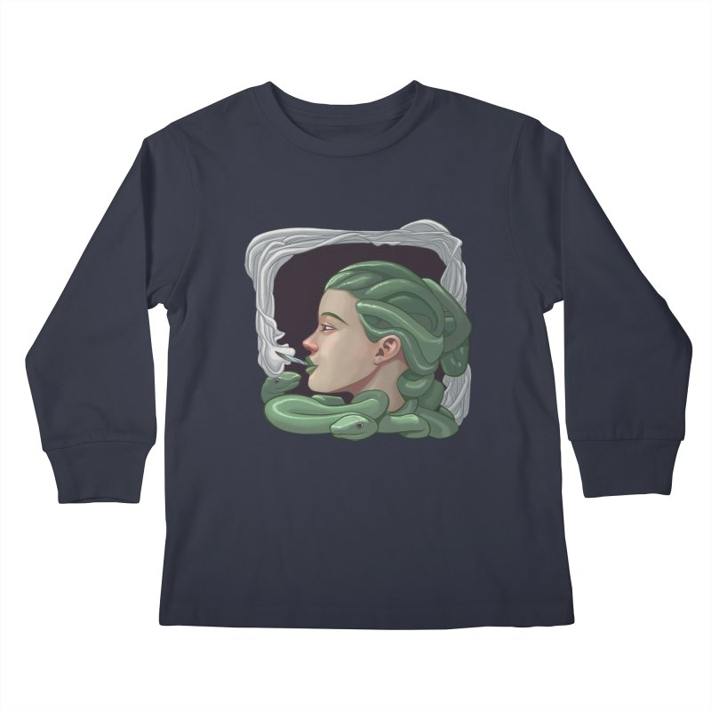 Stoned Kids Longsleeve T-Shirt by weswongwithyou's Artist Shop