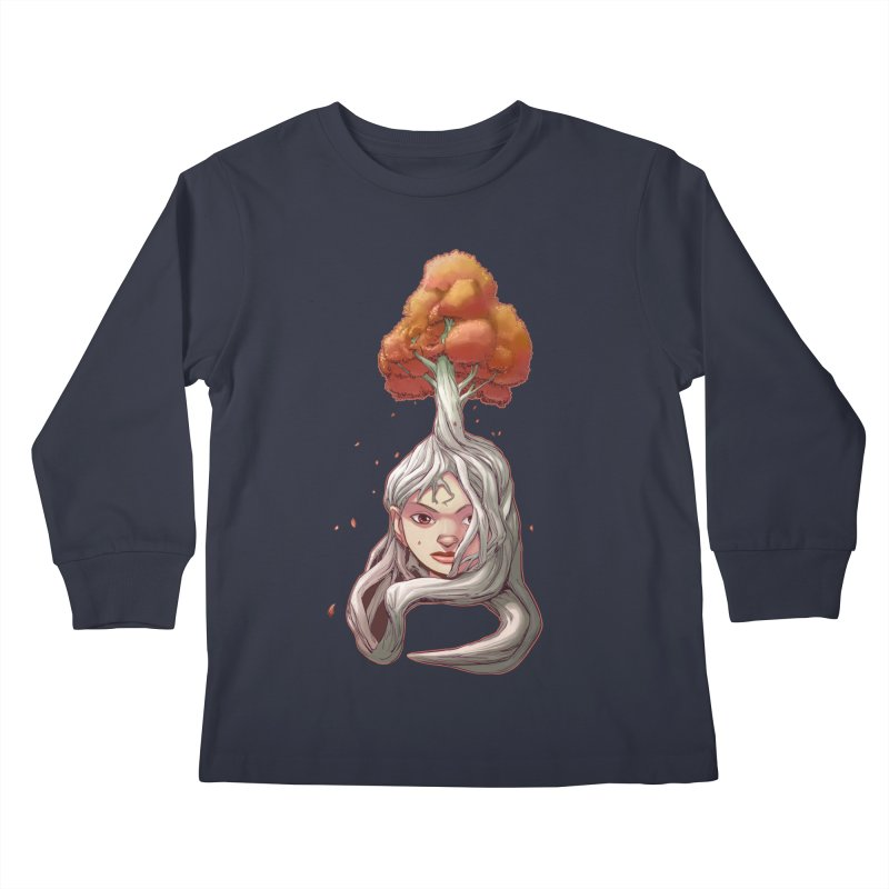 Your Roots Are Showing - Autumn Version Kids Longsleeve T-Shirt by weswongwithyou's Artist Shop