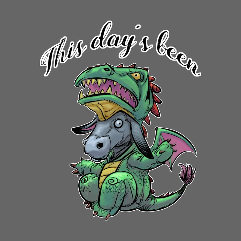 Dragon Ass Women's V-Neck by weswongwithyou's Artist Shop