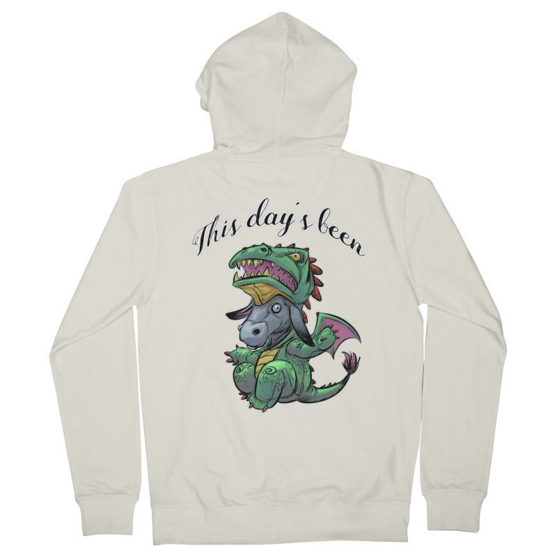Dragon Ass Men's Zip-Up Hoody by weswongwithyou's Artist Shop