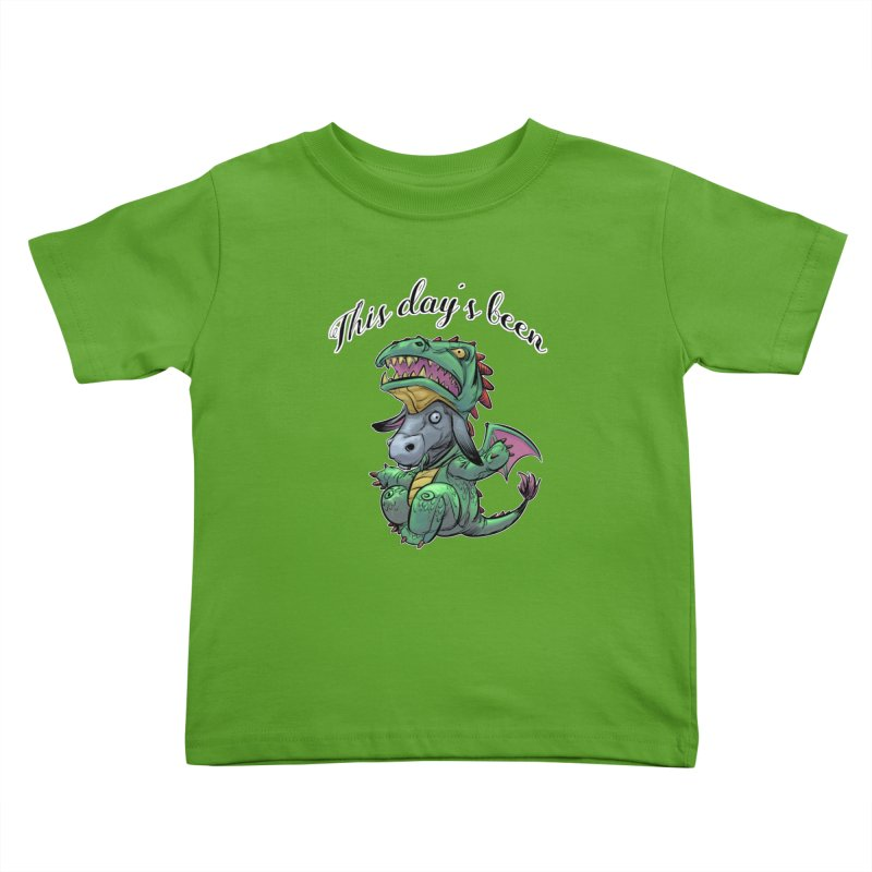 Dragon Ass Kids Toddler T-Shirt by weswongwithyou's Artist Shop
