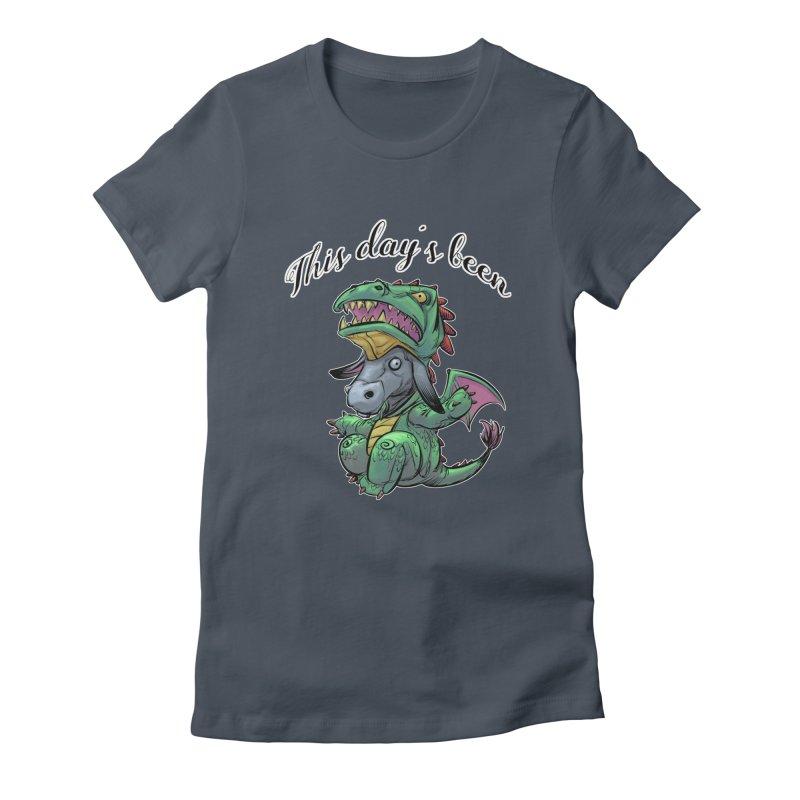 Dragon Ass Women's T-Shirt by weswongwithyou's Artist Shop