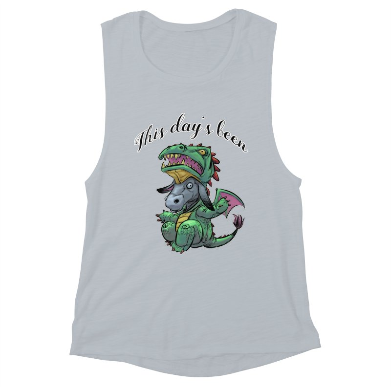 Dragon Ass Women's Muscle Tank by weswongwithyou's Artist Shop