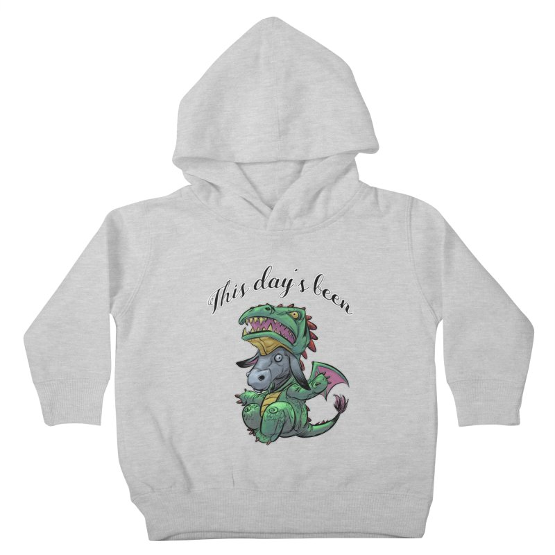 Dragon Ass Kids Toddler Pullover Hoody by weswongwithyou's Artist Shop