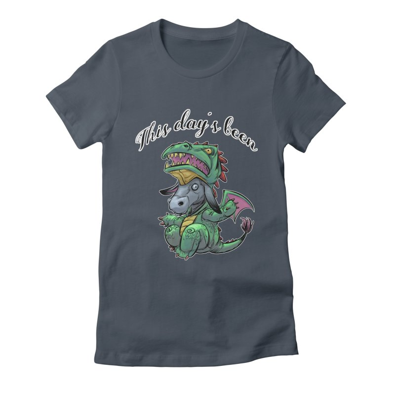 Dragon Ass Women's T-Shirt by weswongwithyou's Artist Shop