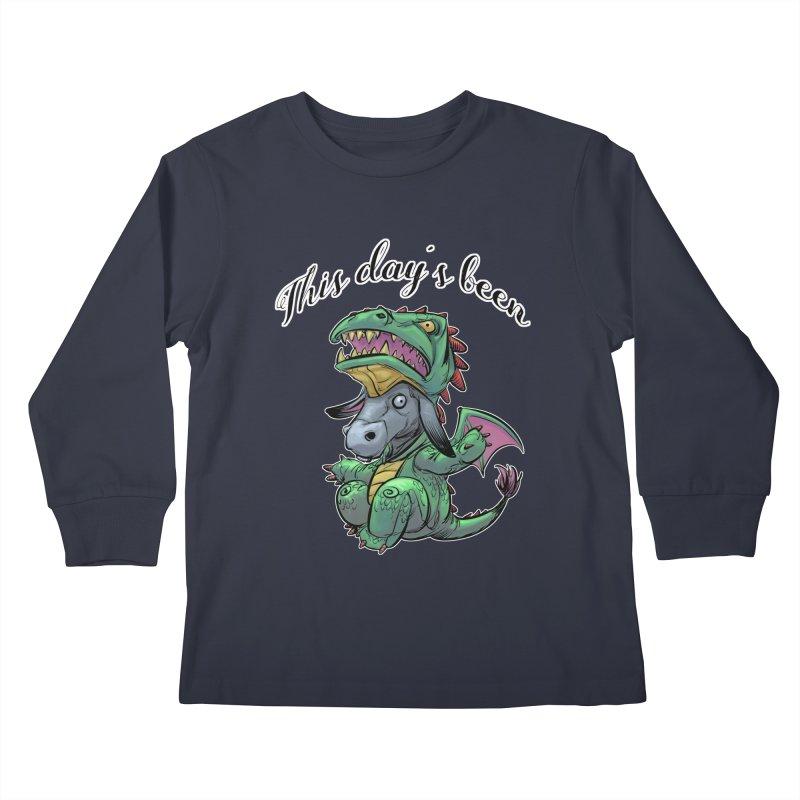 Dragon Ass Kids Longsleeve T-Shirt by weswongwithyou's Artist Shop