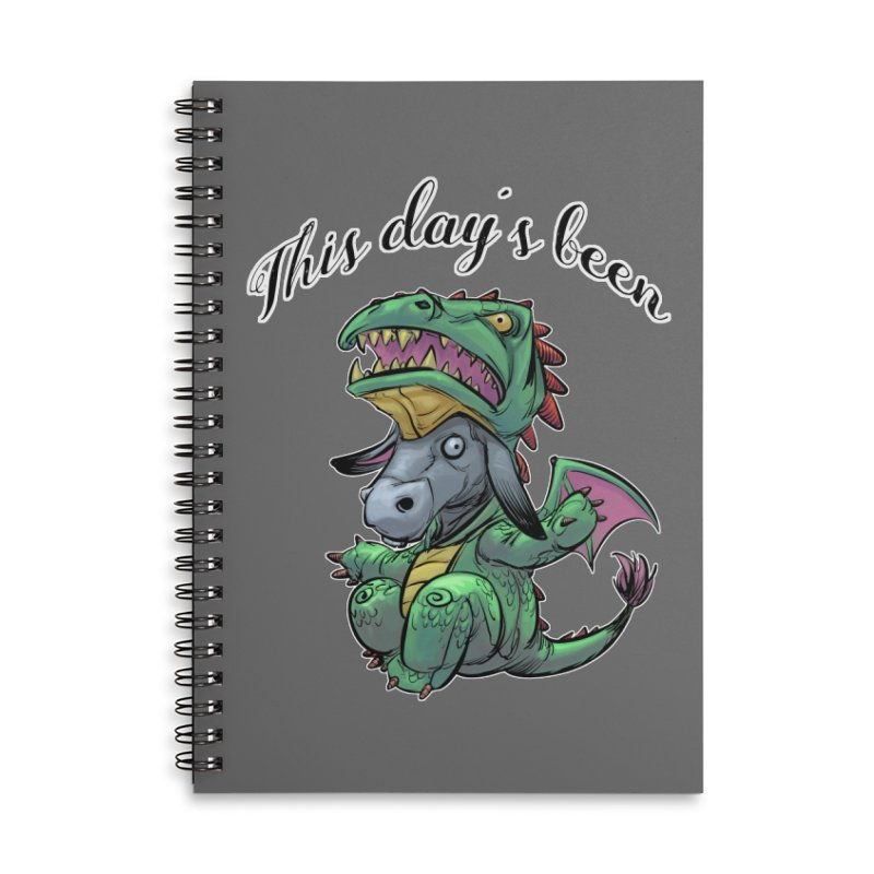 Dragon Ass Accessories Notebook by weswongwithyou's Artist Shop