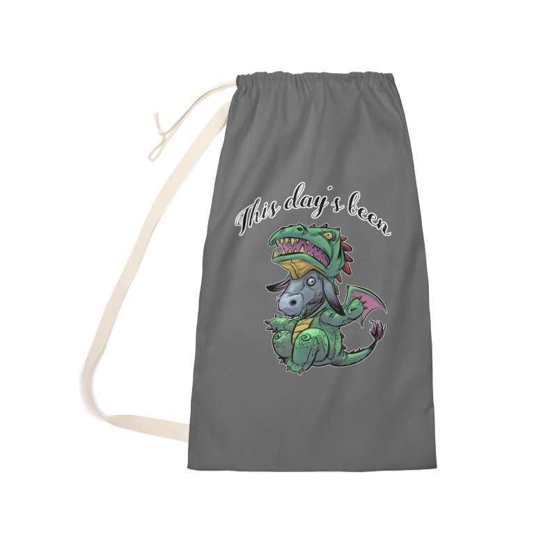 Dragon Ass Accessories Bag by weswongwithyou's Artist Shop