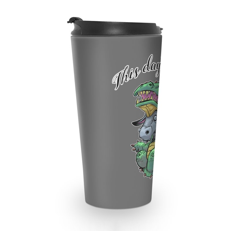 Dragon Ass Accessories Travel Mug by weswongwithyou's Artist Shop