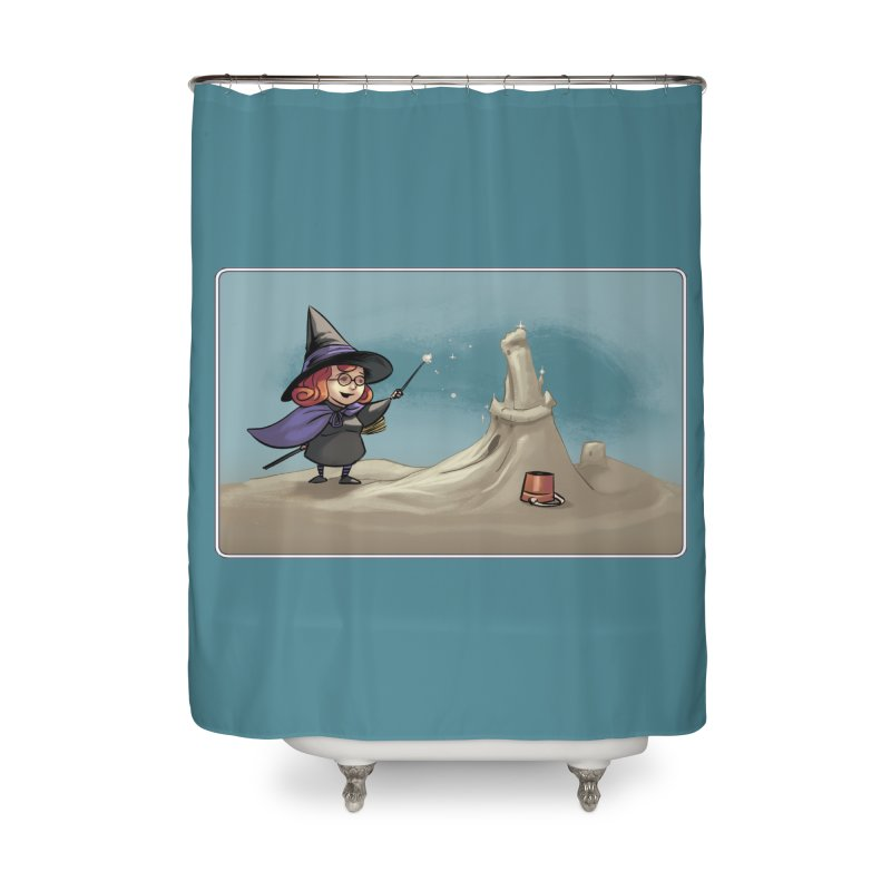 Sand Witch Home Shower Curtain by weswongwithyou's Artist Shop