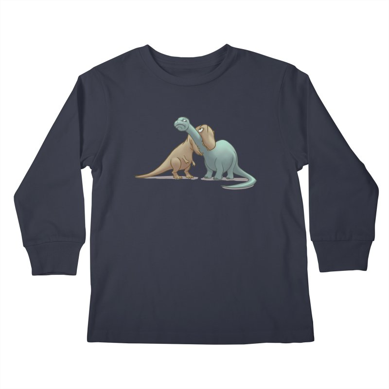 Well.. this is awkward Kids Longsleeve T-Shirt by weswongwithyou's Artist Shop