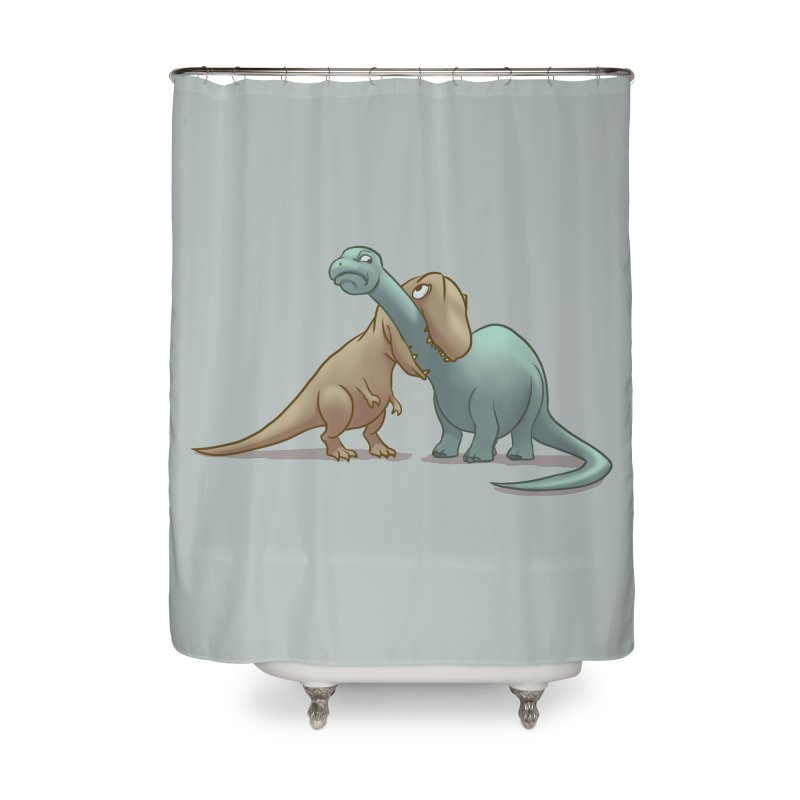 Well.. this is awkward Home Shower Curtain by weswongwithyou's Artist Shop