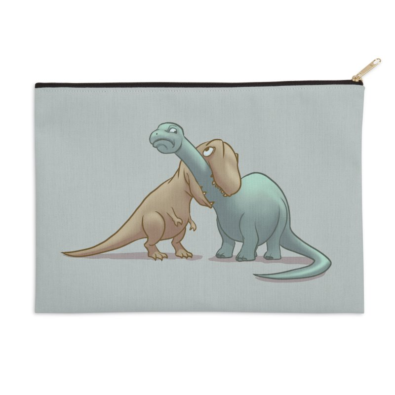 Well.. this is awkward Accessories Zip Pouch by weswongwithyou's Artist Shop