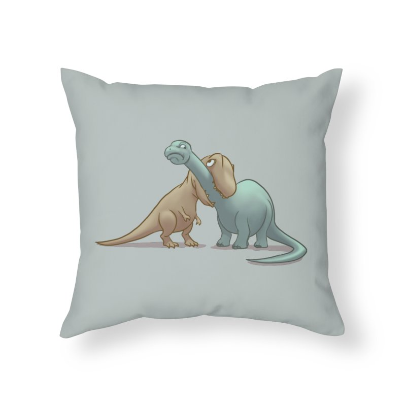 Well.. this is awkward Home Throw Pillow by weswongwithyou's Artist Shop