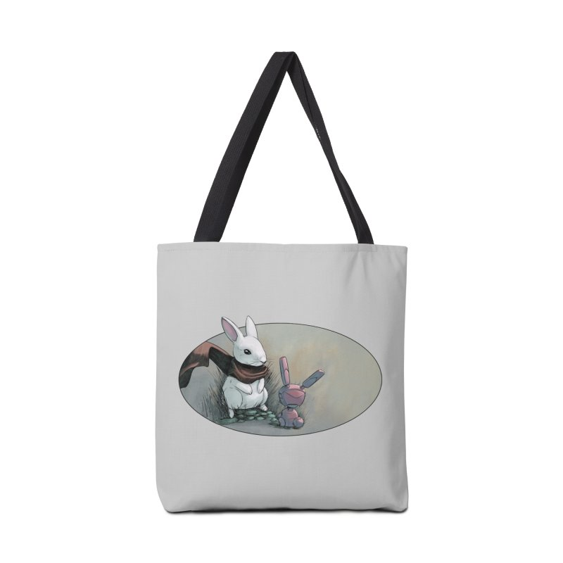 A Curious Encounter Accessories Bag by weswongwithyou's Artist Shop