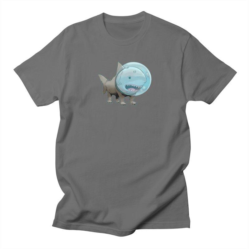 Shark+Pug=Shug Men's T-Shirt by weswongwithyou's Artist Shop