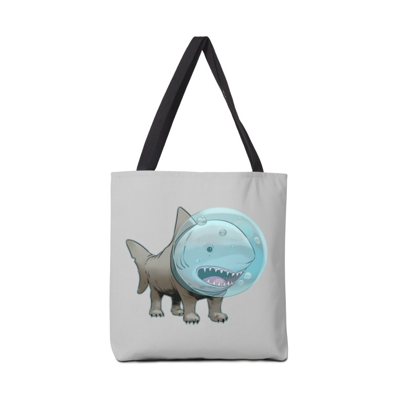 Shark+Pug=Shug Accessories Bag by weswongwithyou's Artist Shop