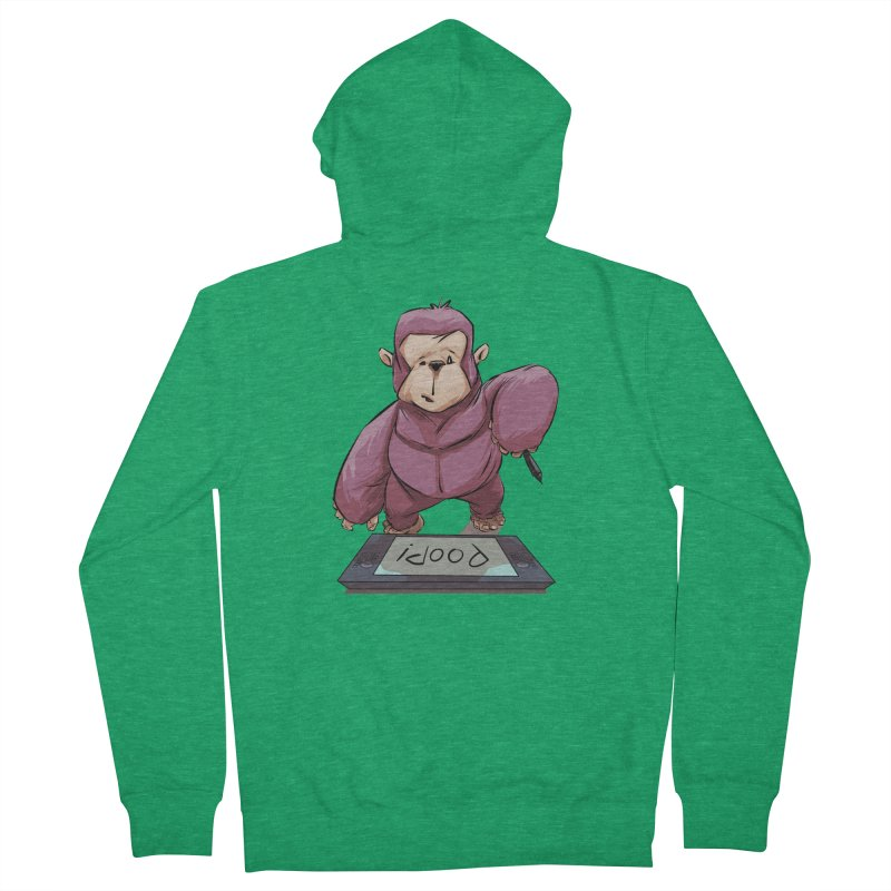 Artist's Block Men's Zip-Up Hoody by weswongwithyou's Artist Shop
