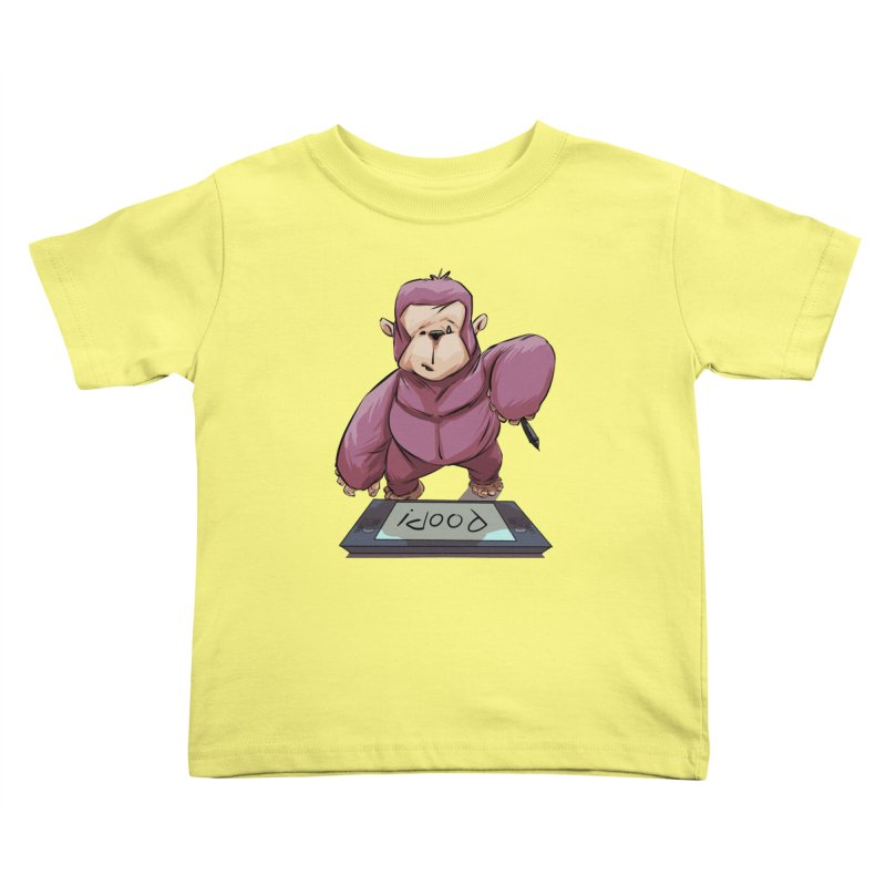 Artist's Block Kids Toddler T-Shirt by weswongwithyou's Artist Shop