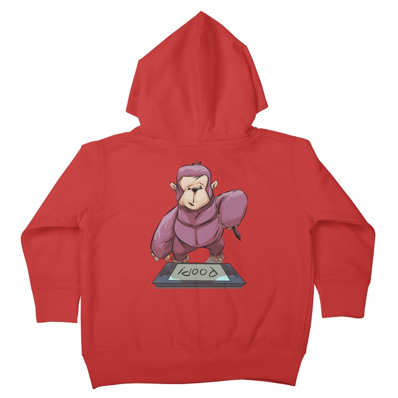 Artist's Block Kids Toddler Zip-Up Hoody by weswongwithyou's Artist Shop