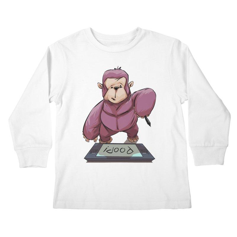 Artist's Block Kids Longsleeve T-Shirt by weswongwithyou's Artist Shop