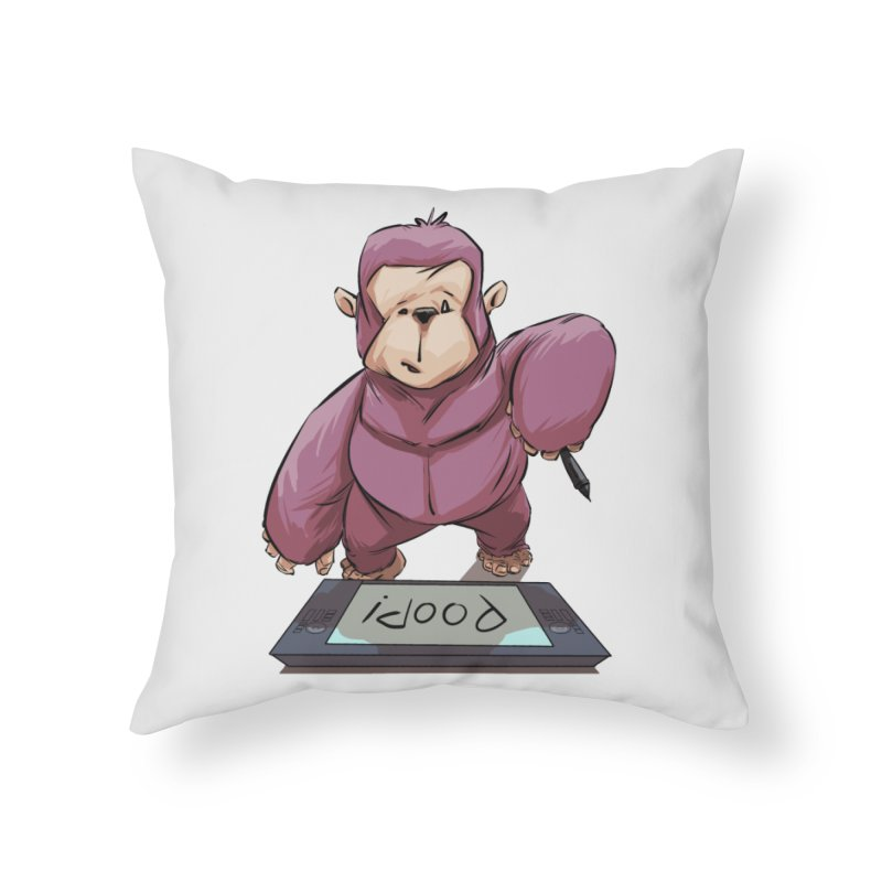 Artist's Block Home Throw Pillow by weswongwithyou's Artist Shop