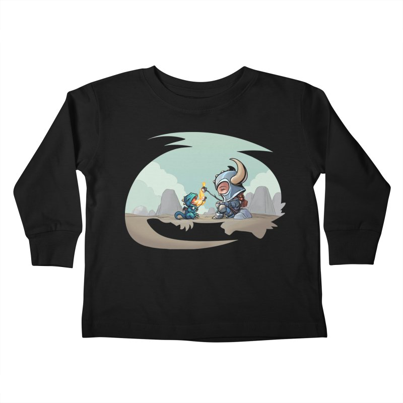 """We need not be enemies"" Kids Toddler Longsleeve T-Shirt by weswongwithyou's Artist Shop"
