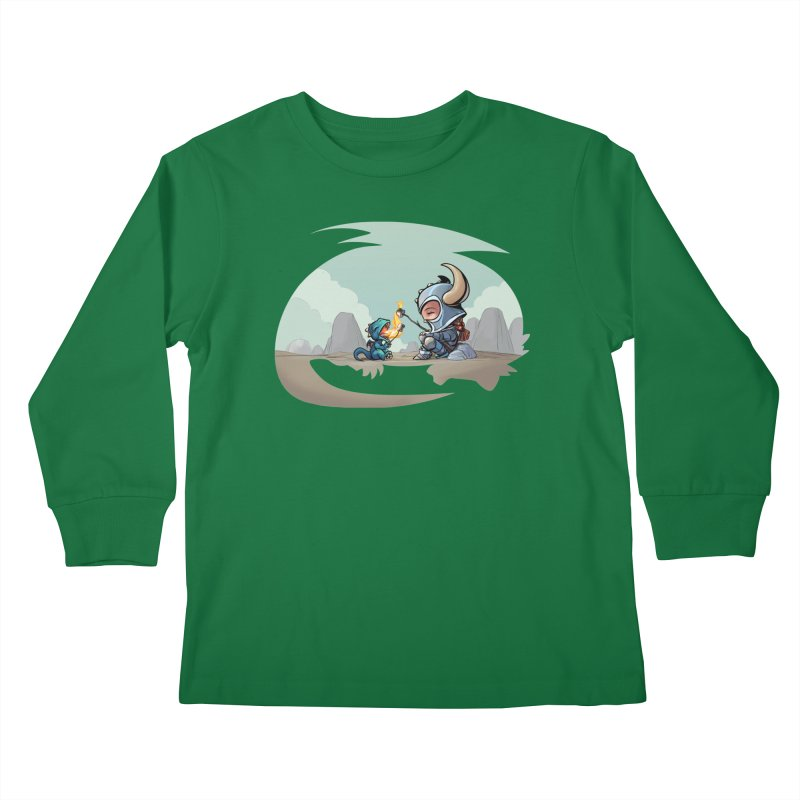 """We need not be enemies"" Kids Longsleeve T-Shirt by weswongwithyou's Artist Shop"