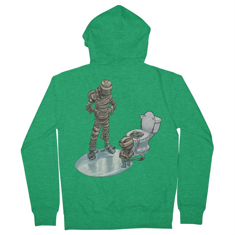 Mummy's work is never done Men's Zip-Up Hoody by weswongwithyou's Artist Shop