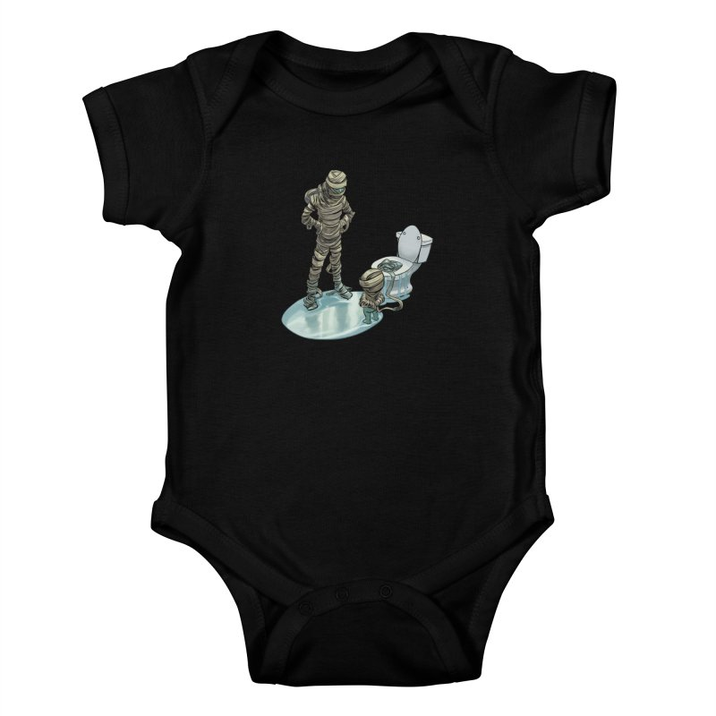 Mummy's work is never done Kids Baby Bodysuit by weswongwithyou's Artist Shop