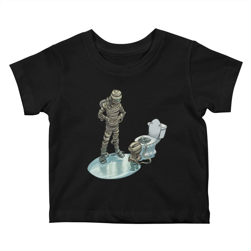Mummy's work is never done Kids Baby T-Shirt by weswongwithyou's Artist Shop