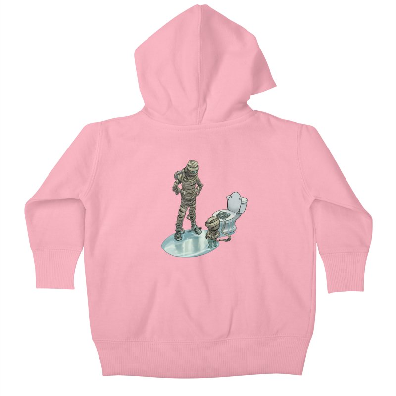 Mummy's work is never done Kids Baby Zip-Up Hoody by weswongwithyou's Artist Shop