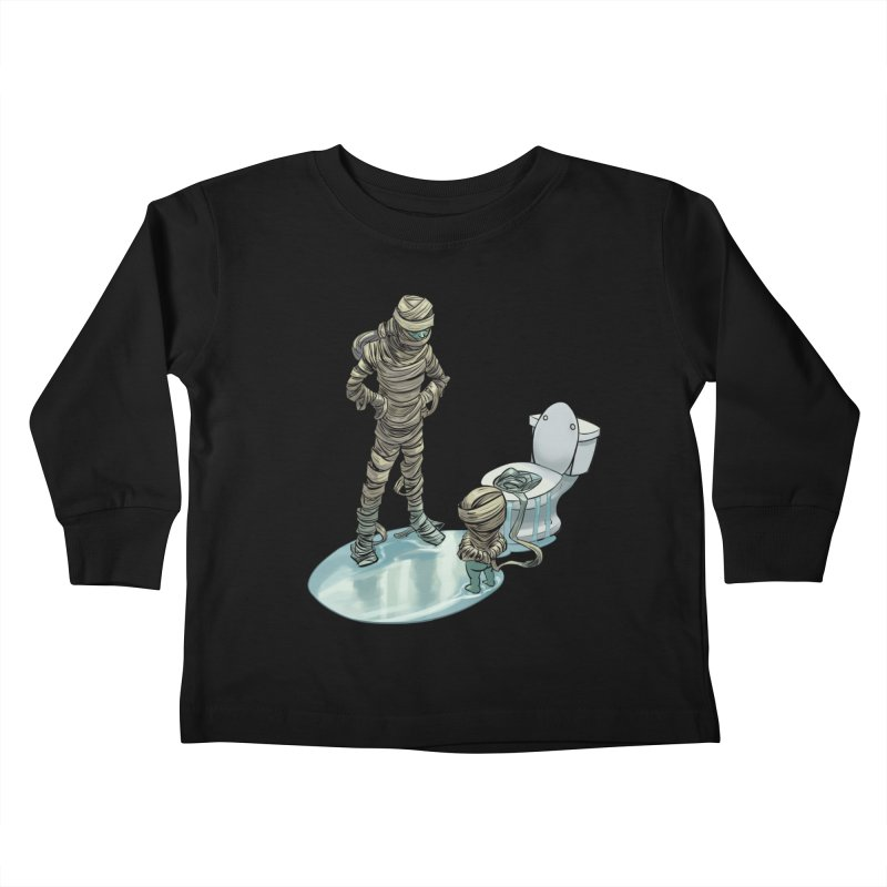 Mummy's work is never done Kids Toddler Longsleeve T-Shirt by weswongwithyou's Artist Shop