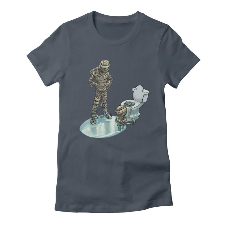 Mummy's work is never done Women's T-Shirt by weswongwithyou's Artist Shop