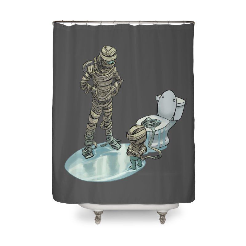 Mummy's work is never done Home Shower Curtain by weswongwithyou's Artist Shop