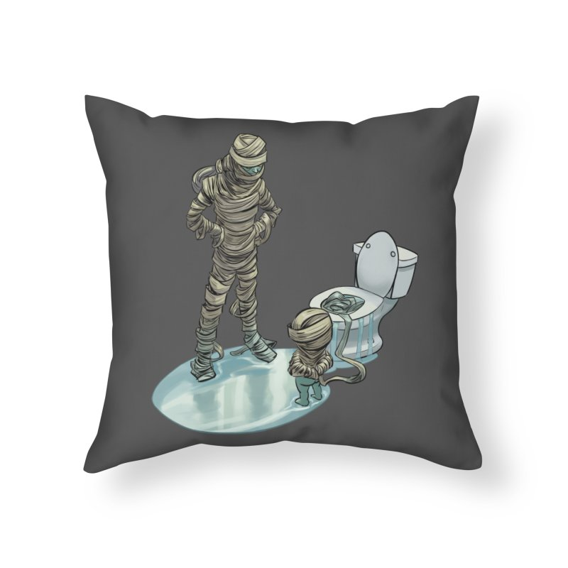 Mummy's work is never done Home Throw Pillow by weswongwithyou's Artist Shop