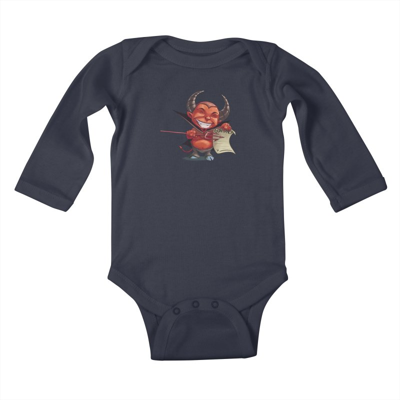 Let's make a deal Kids Baby Longsleeve Bodysuit by weswongwithyou's Artist Shop