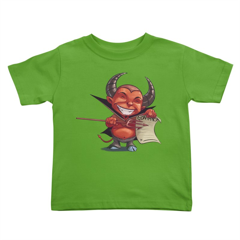 Let's make a deal Kids Toddler T-Shirt by weswongwithyou's Artist Shop