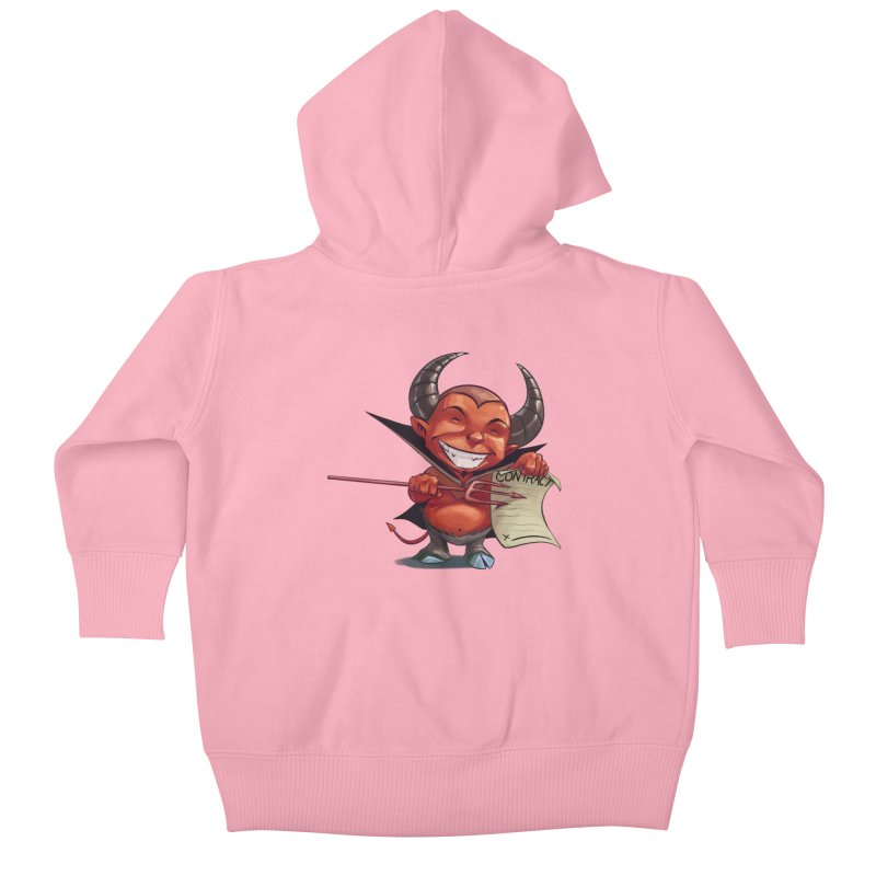 Let's make a deal Kids Baby Zip-Up Hoody by weswongwithyou's Artist Shop