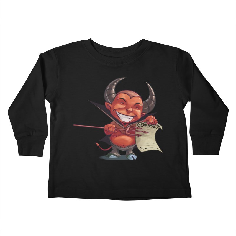 Let's make a deal Kids Toddler Longsleeve T-Shirt by weswongwithyou's Artist Shop