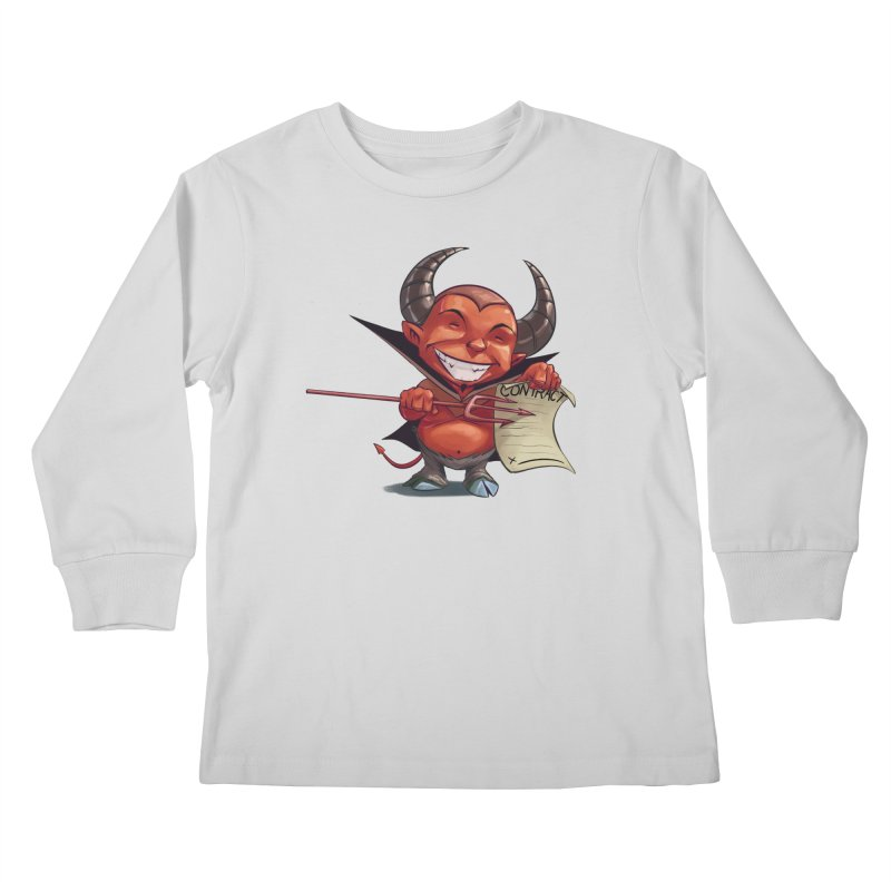 Let's make a deal Kids Longsleeve T-Shirt by weswongwithyou's Artist Shop