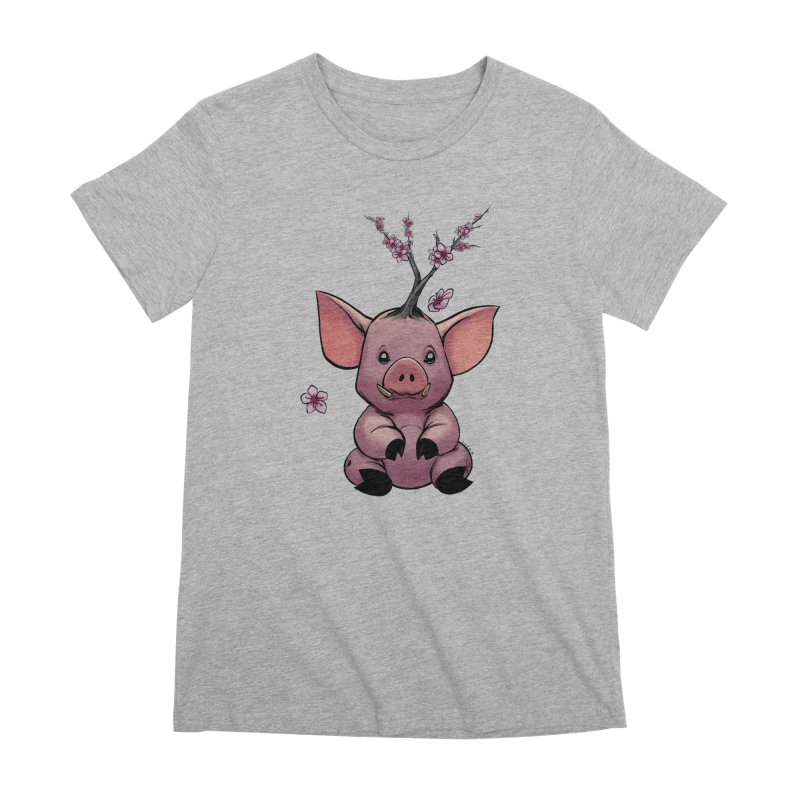 Lunar New Year 2019 Earth Pig Women's Premium T-Shirt by weswongwithyou's Artist Shop
