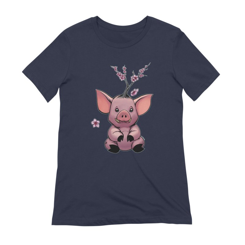 Lunar New Year 2019 Earth Pig Women's Extra Soft T-Shirt by weswongwithyou's Artist Shop
