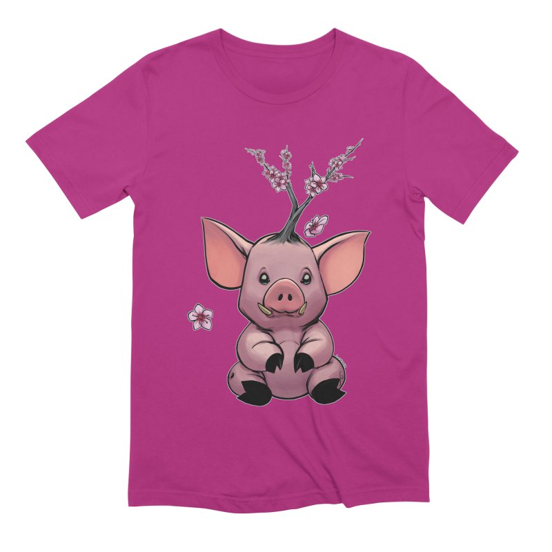 Lunar New Year 2019 Earth Pig Men's Extra Soft T-Shirt by weswongwithyou's Artist Shop