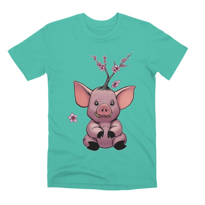 Lunar New Year 2019 Earth Pig Men's Premium T-Shirt by weswongwithyou's Artist Shop