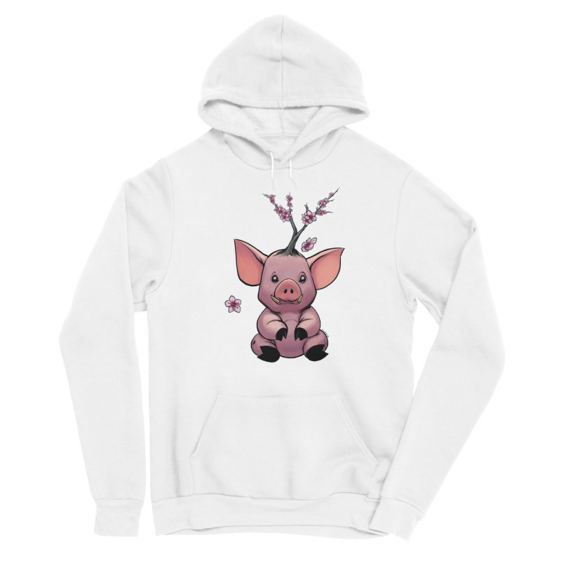 Lunar New Year 2019 Earth Pig Women's Sponge Fleece Pullover Hoody by weswongwithyou's Artist Shop