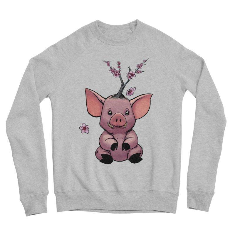 Lunar New Year 2019 Earth Pig Men's Sponge Fleece Sweatshirt by weswongwithyou's Artist Shop