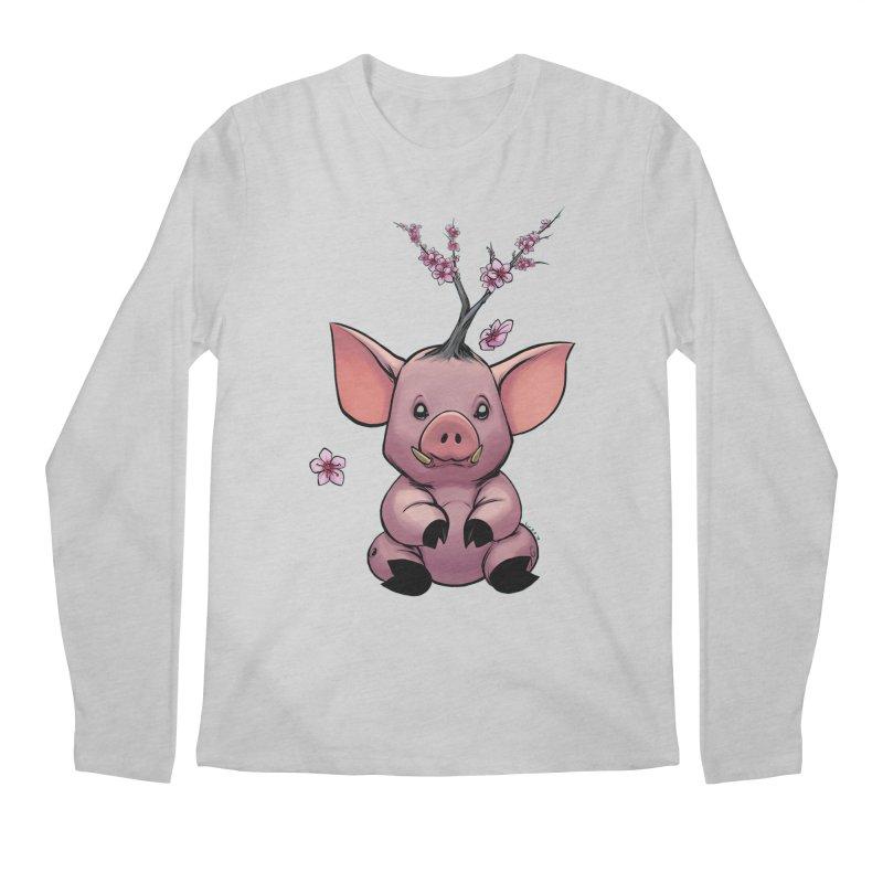 Lunar New Year 2019 Earth Pig Men's Regular Longsleeve T-Shirt by weswongwithyou's Artist Shop